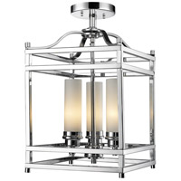 Z-Lite Altadore 3 Light Semi-Flush Mount in Chrome 180SF
