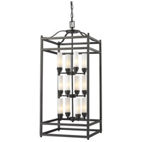 Z-Lite 181-12 Altadore 12 Light 18 inch Bronze Pendant Ceiling Light