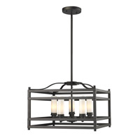Z-Lite Altadore 5 Light Pendant in Bronze 181-5