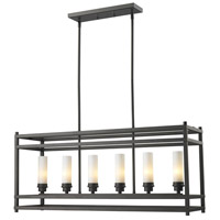 Z-Lite Altadore 6 Light Pendant in Bronze 181-6