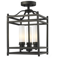 Z-Lite Altadore 3 Light Semi-Flush Mount in Bronze 181SF