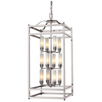 Z-Lite Altadore 12 Light Chandelier in Brushed Nickel 182-12