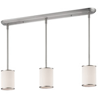 Z-Lite Cameo 3 Light Island Light in Brushed Nickel 183-6-3