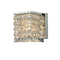 Z-Lite Waltz 1 Light Wall Sconce in Chrome 184-1S