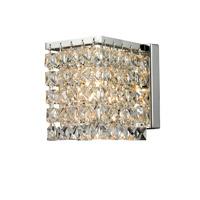 Z-Lite Waltz 1 Light Wall Sconce in Chrome 184-1S