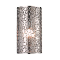 Z-Lite Saatchi 1 Light Wall Sconce in Chrome 185-1S