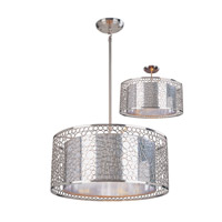 Z-Lite Saatchi 5 Light Pendant in Chrome 185-20