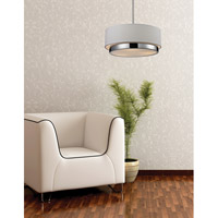 Z-Lite 186-16 Jade 3 Light 16 inch Chrome Pendant Ceiling Light alternative photo thumbnail