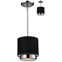 Z-Lite Jade 1 Light Pendant in Chrome 187-8