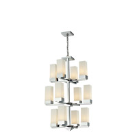 Z-Lite Sapphire 12 Light Chandelier in Chrome 190-12
