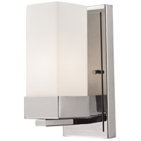 Z-Lite Sapphire 1 Light Wall Sconce in Chrome 190-1S