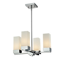 Z-Lite Sapphire 4 Light Chandelier in Chrome 190-4