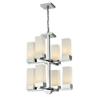 Z-Lite Sapphire 8 Light Chandelier in Chrome 190-8