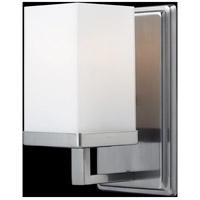 Z-Lite 1900-1V Tidal 1 Light 5 inch Brushed Nickel Vanity Light Wall Light in 1.76