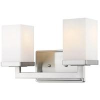 Z-Lite 1900-2V Tidal 2 Light 13 inch Brushed Nickel Vanity Light Wall Light in 2.98