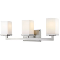 Tidal 3 Light 23 inch Brushed Nickel Vanity Light Wall Light
