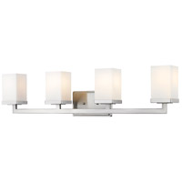 Z-Lite Tidal 4 Light Vanity in Brushed Nickel 1900-4V