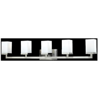 Z-Lite Tidal 5 Light Vanity in Brushed Nickel 1900-5V