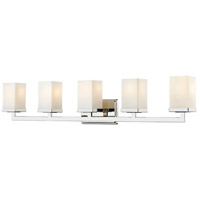 Z-Lite Tidal 5 Light Vanity in Chrome 1901-5V