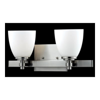 Z-Lite Dorsett 2 Light Vanity in Brushed Nickel 1902-2V