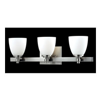 Z-Lite Dorsett 3 Light Vanity in Brushed Nickel 1902-3V