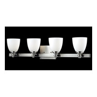 Z-Lite Dorsett 4 Light Vanity in Brushed Nickel 1902-4V