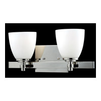 Z-Lite Dorsett 2 Light Vanity in Chrome 1903-2V