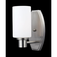 Z-Lite Adria 1 Light Vanity in Brushed Nickel 1904-1V photo thumbnail