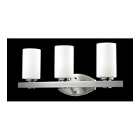 Z-Lite Adria 3 Light Vanity in Brushed Nickel 1904-3V