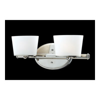 Z-Lite Chimera 2 Light Vanity in Chrome 1907-2V photo thumbnail