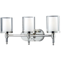 Argenta 3 Light 24 inch Chrome Vanity Light Wall Light