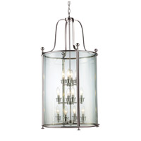 Z-Lite Wyndham 12 Light Pendant in Brushed Nickel 191-12