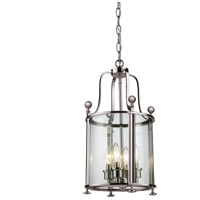 Wyndham 4 Light 12 inch Brushed Nickel Pendant Ceiling Light