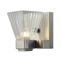 Z-Lite Iluna 1 Light Wall Sconce in Brushed Nickel 1910-1S