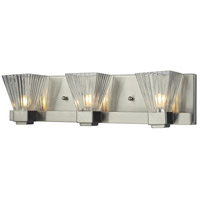 Iluna 3 Light 18 inch Brushed Nickel Vanity Light Wall Light