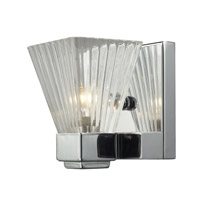 Z-Lite Iluna 1 Light Wall Sconce in Chrome 1911-1S
