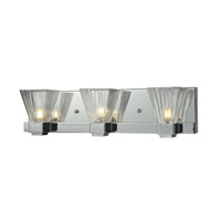 Iluna 3 Light 18 inch Chrome Vanity Light Wall Light