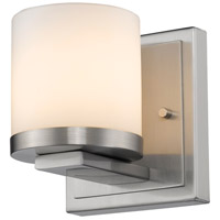 Z-Lite 1912-1S-BN-LED Nori LED 5 inch Brushed Nickel Wall Sconce Wall Light