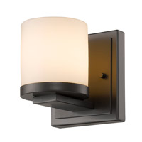 Z-Lite 1912-1S-BRZ-LED Nori LED 5 inch Bronze Wall Sconce Wall Light