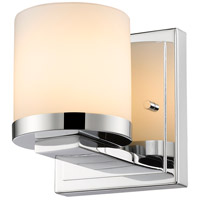 Z-Lite 1912-1S-CH-LED Nori LED 5 inch Chrome Wall Sconce Wall Light