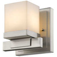 Cadiz 1 Light 5 inch Brushed Nickel Wall Sconce Wall Light