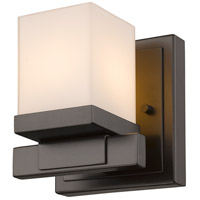 Cadiz 1 Light 5 inch Bronze Wall Sconce Wall Light