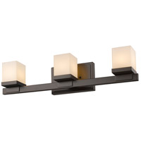 Z-Lite 1913-3V-BRZ Cadiz 3 Light 22 inch Bronze Vanity Wall Light in G9