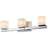 Cadiz 3 Light 22 inch Chrome Vanity Light Wall Light
