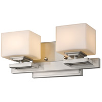Z-Lite 1914-2V-BN Cuvier 2 Light 12 inch Brushed Nickel Vanity Wall Light in G9 photo thumbnail