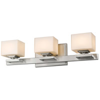 Z-Lite Cuvier 3 Light Vanity Light in Brushed Nickel 1914-3V-BN