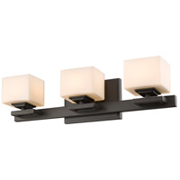 Z-Lite 1914-3V-BRZ Cuvier 3 Light 20 inch Bronze Vanity Wall Light in G9