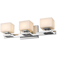 Z-Lite 1914-3V-CH Cuvier 3 Light 20 inch Chrome Vanity Wall Light in G9