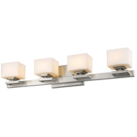 Z-Lite 1914-4V-BN-LED Cuvier LED 27 inch Brushed Nickel Vanity Wall Light in 4