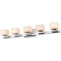 Z-Lite 1914-5V-CH-LED Cuvier LED 35 inch Chrome Vanity Wall Light